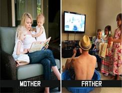 ¿Cuál es la diferencia entre Mamá y Papá?