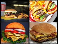 ¿Cuáles son las 10 mejores hamburguesas favoritas en Estados Unidos?