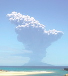 Japón alerta de erupción volcánica en Kagoshima, sudoeste del país