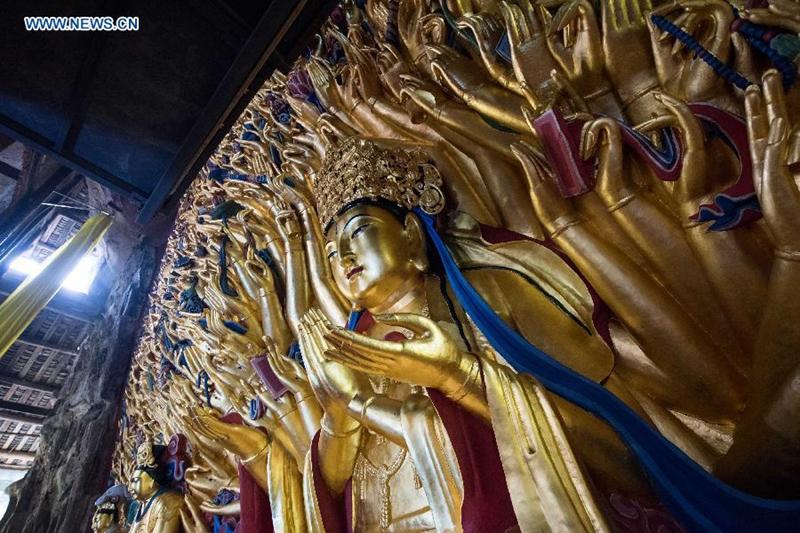 Enciclopedia de la cultura china: El Buda de las Mil Manos 千手观音1