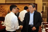 Líder chino se reúne con empresarios para hablar de XIII Plan Quinquenal