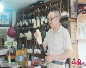 El último productor de pinceles chinos