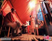Grupo teatral que vive en el barco