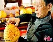 Creación artística con cáscara de pomelo, una artesanía recuperada
