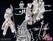 Pinturas de piel de pez de la etnia Hezhe