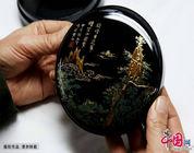 Historia de los objetos barnizados con laca de Huizhou