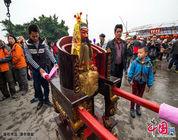 La costumbre peculiar de Lingnan: saltar el fuego