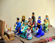 Enciclopedia de la cultura china: Las figuras de barro de Huishan, Wuxi