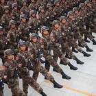 Tropas chinas se preparan para desfile perfecto de conmemoración de la IIGM