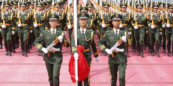 Transmisión en directo del desfile militar en Beijing