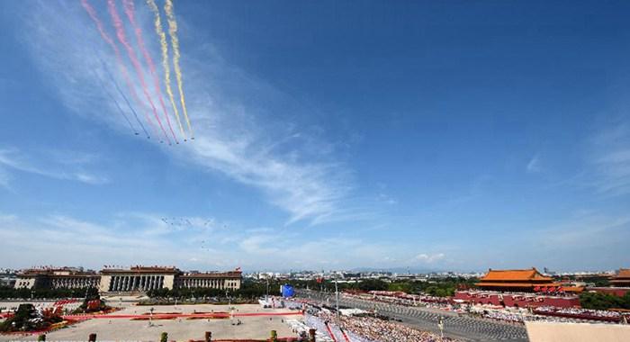 Desfile militar del Día de la Victoria en Beijing