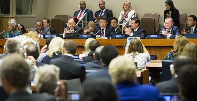Presidente chino propone cuatro puntos para promover derechos de mujeres
