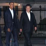 Xi Jinping y Obama pasean juntos antes de cenar