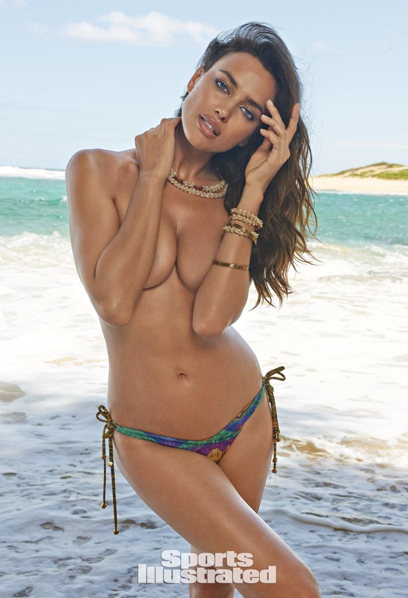 Irina Shayk Se Desnuda Para El Show De Bikini De Sports