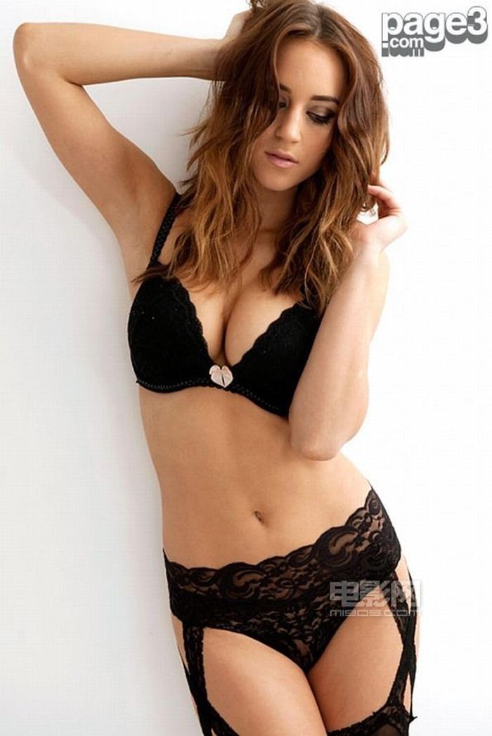 La sexy diosa británica de la Premier League Rosie Jones lo enseña ...