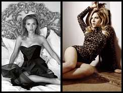 Fotos sensuales de Scarlett Johansson para celebrar su cumpleaños