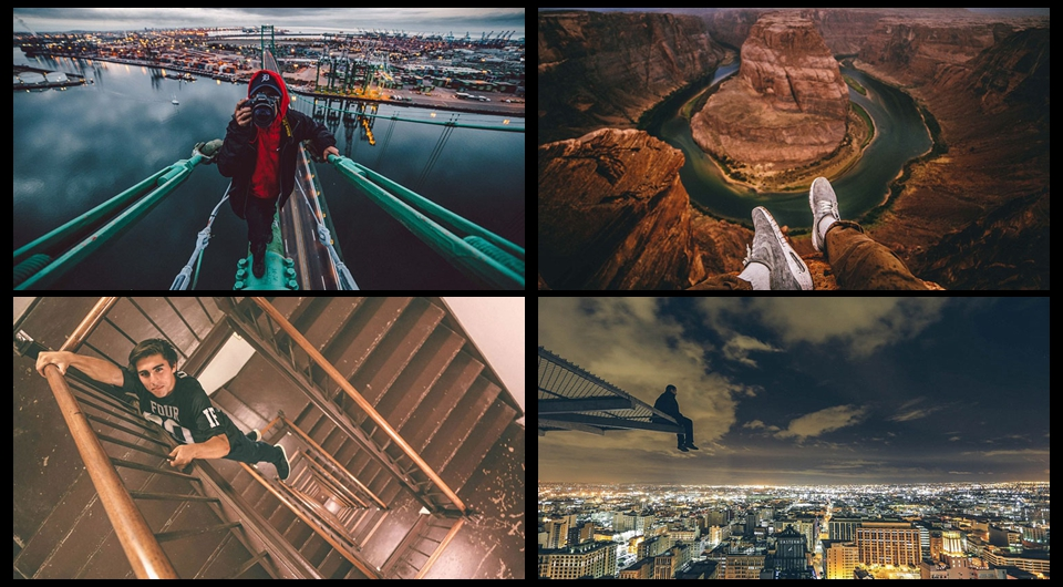 Fotos de aventura tomadas por un jóven estadounidense de 20 años