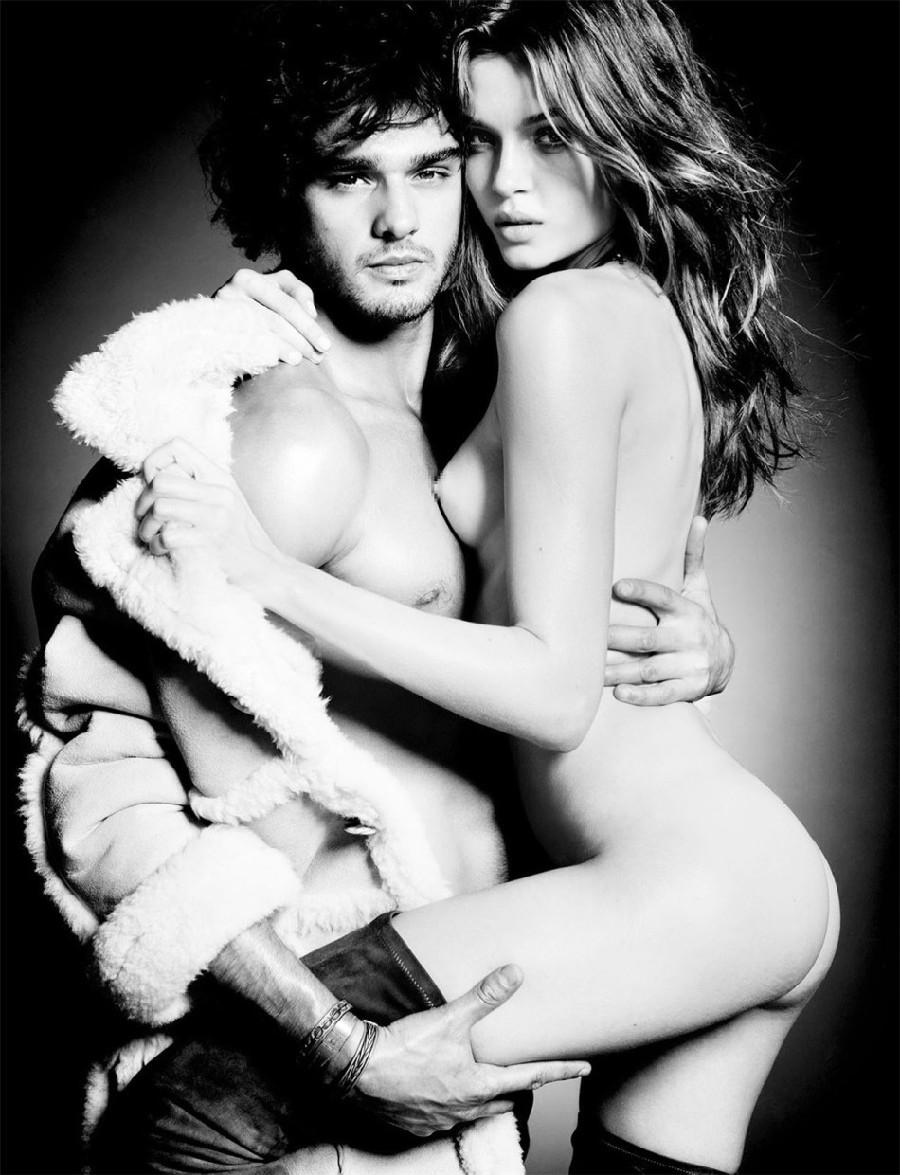 Modelos Josephine Skriver Y Marlon Teixeira Posan Eróticos Y