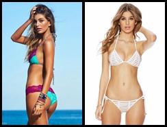 Sexy Joven Modelo Camila Morrone Luce Su Pecho Hermosospanish