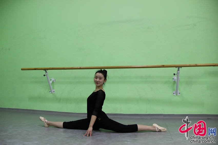Vacaciones al estilo chino: bailarina luchadora en Beijing