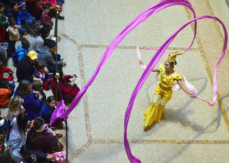 Fiesta de Año Nuevo Lunar de Museo Metropolitano de Arte en Nueva York