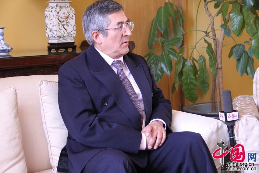 Embajador Capuñay de Perú: La relación con China es cada vez más estrecha3