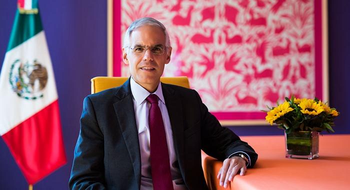 Embajador Ventura de México: Reformas estructurales y el cambio climático son puntos clave