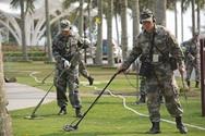 Inspección de seguridad en el Foro Boao