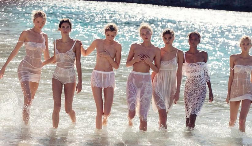 Vogue Desnuda A Siete ángeles De Victorias Secretspanishchina