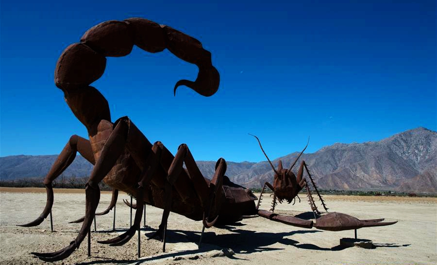 'Sky Art' en desierto de Borrego Springs, Los Angeles