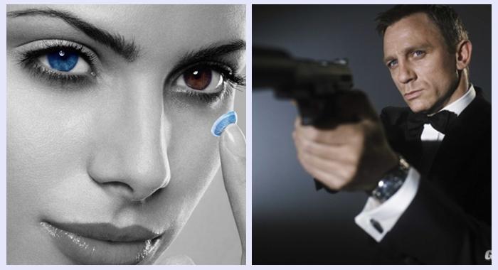 Cualquiera puede ser 007 con las lentillas de Sony que graban vídeo