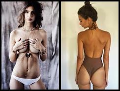 Emily Ratajkowski sube la temperatura a la red social con su sensualidad