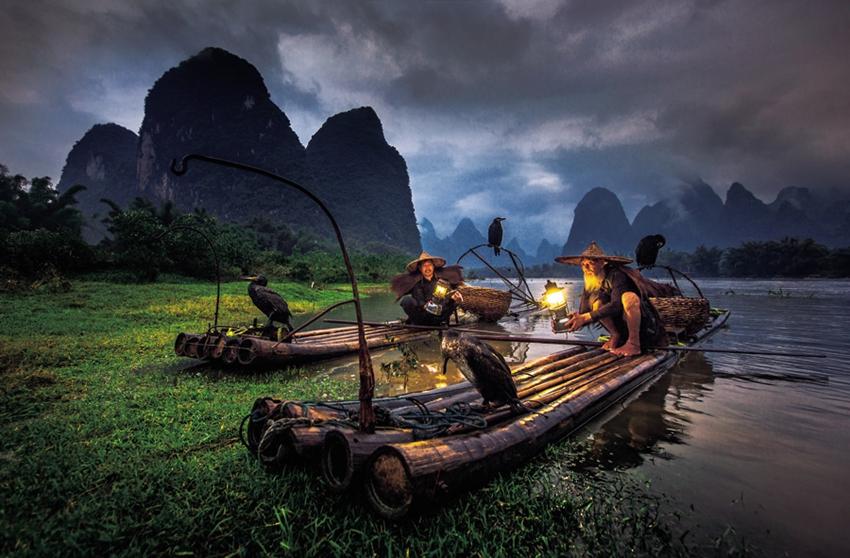 Una colección de fotos instantáneas capturan la vida en China1