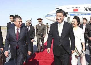 Presidente chino comienza visita a Uzbekistán en ciudad histórica de Bujará
