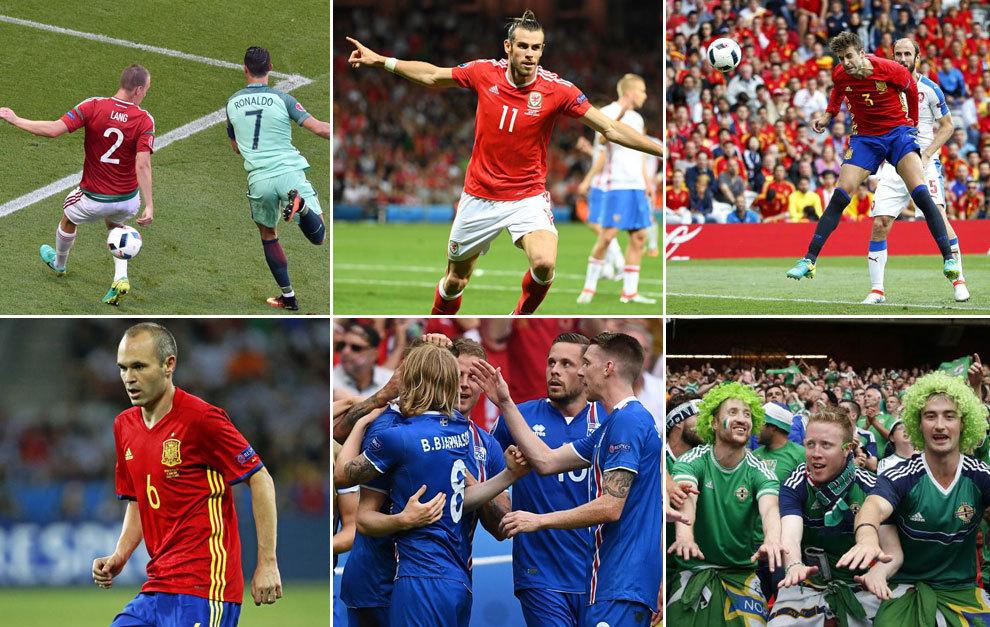Lo mejor de la primera fase de la Eurocopa 2016