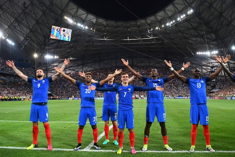 Francia venció 2-0 a Alemania y jugará con Portugal la final de la Eurocopa 2016
