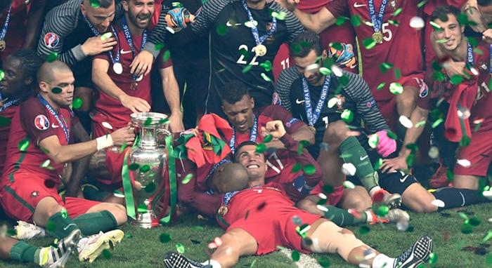 Portugal, campeón de Europa de fútbol