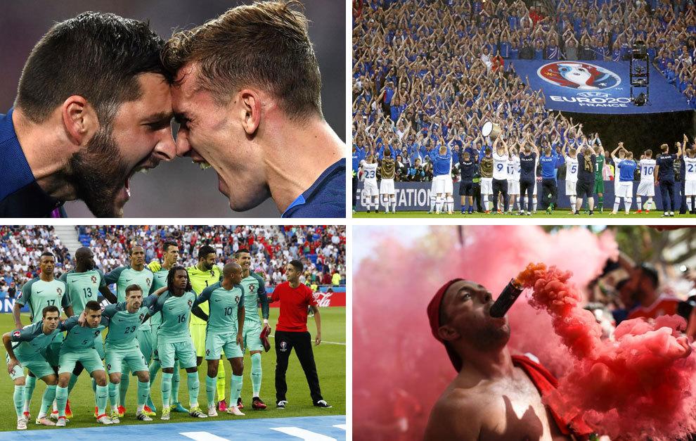 La Eurocopa en 20 imágenes