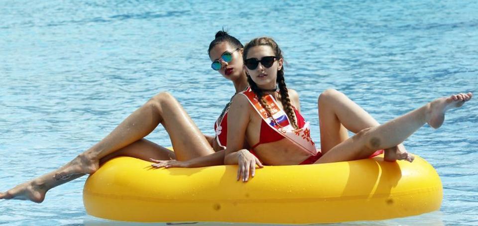 Miss Ocio Mundo se celebra en Guizhou, China