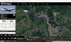 """Air China: El vuelo civil chino no voló a través de la """"zona de exclusión aérea"""" sobre Seversk, los datos citados por los medios rusos son erróneos"""