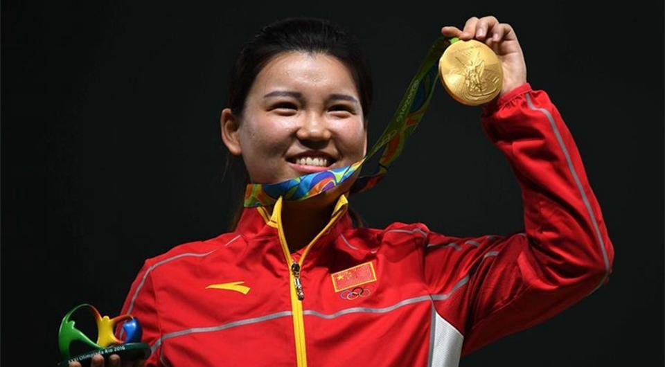 Río 2016: Tiradora Zhang Mengxue gana primera medalla de oro de China en Río
