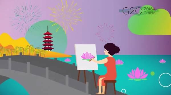Un video promocional presenta a la ciudad de Hangzhou, anfitriona del G20, a la audiencia europea3