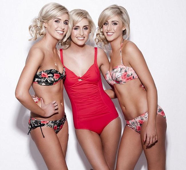Las hermanas trillizas más similar del mundo