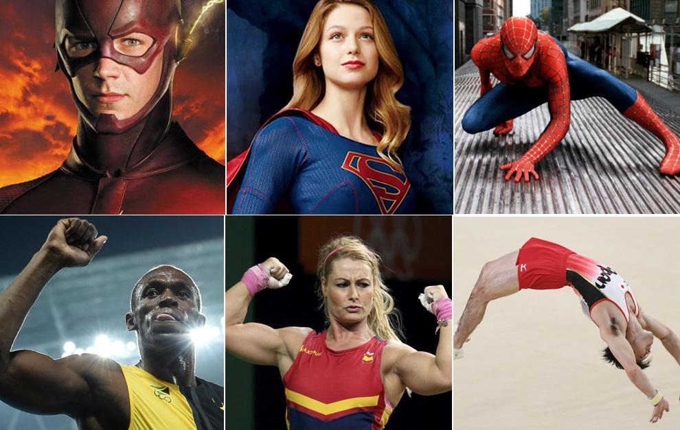 Superhéroes en los Juegos de Río