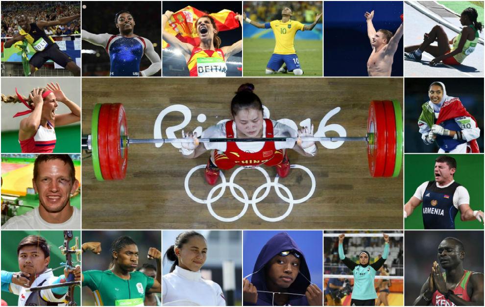Los 20 momentos más impactantes de los Juegos Olímpicos de Río
