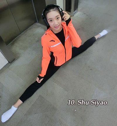 Las 10 atletas chinas más bellas en Río