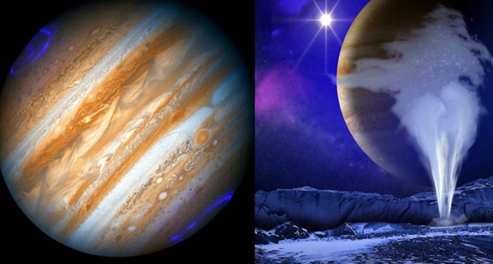 La NASA fotografía auroras boreales en Júpiter