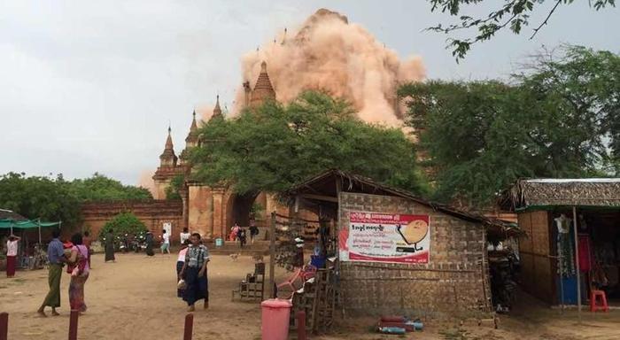 Un terremoto de 6,8 en el centro de Birmania
