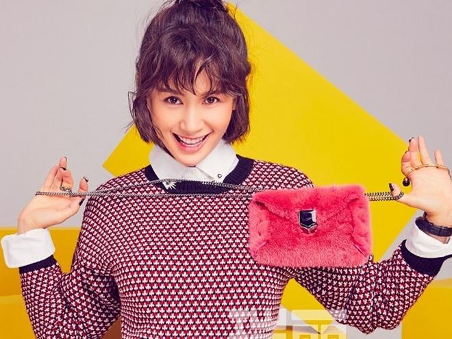 Actriz Wang Ziwen posa para revista Rayli