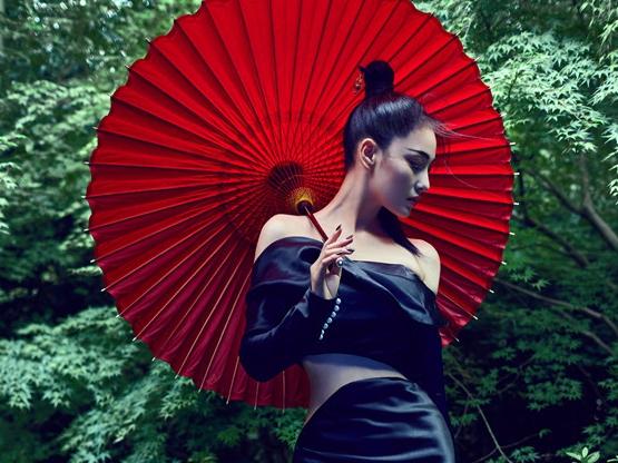 Nuevas imágenes de actriz Zhang Xinyu